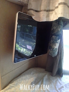 Fantastic way to mount a tv in a camper or rv - genius! Step-by-step instructions!