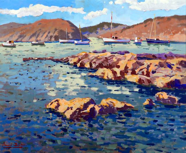 Manuel Doblas Pinto, Paisajistas españoles, Pintores españoles, Pintores Malagueños, Pintor español, Pintores de Málaga