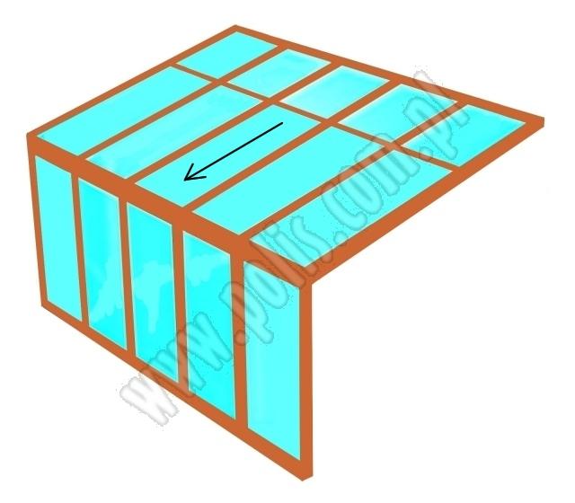 dach ogrodu zimowego, kształt ogrodu zimowego, projekt ogrodu zimowego,