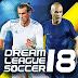 لعبة Dream League Soccer 2018 مهكرة كاملة للاندرويد (اخر اصدار)