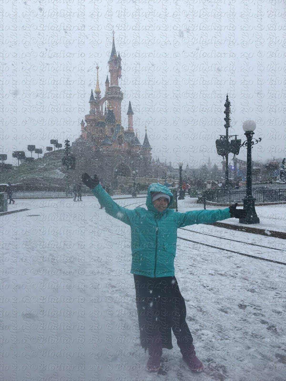 La nostra vacanza a Disneyland Paris sotto la neve