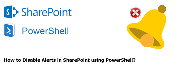 how to disable alerts in sharepoint using powershell