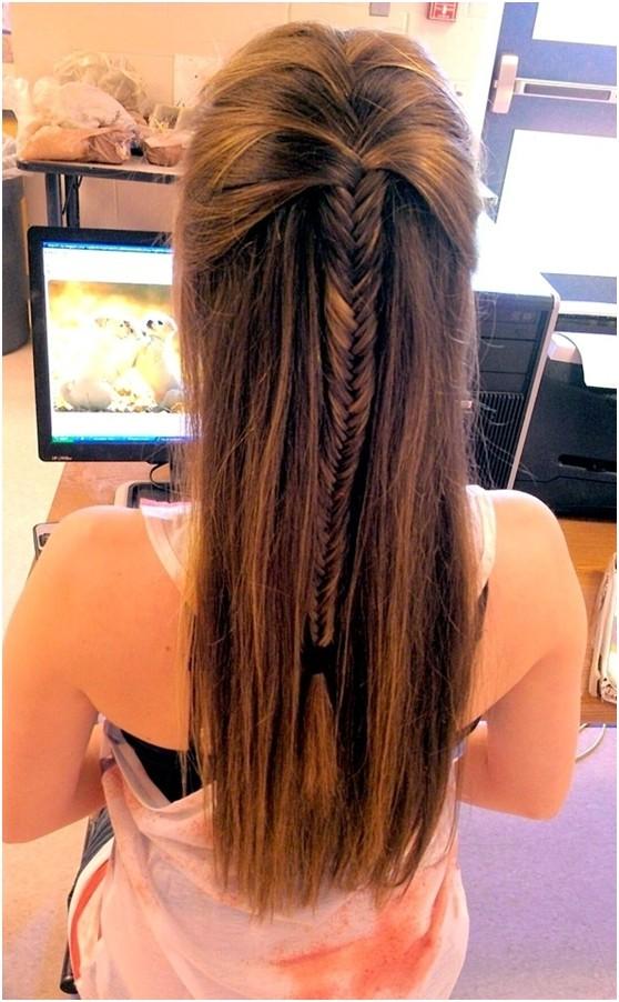Astonishing 4 New Easy Fishtail Braid Hairstyles Jere Haircuts Hairstyles For Men Maxibearus
