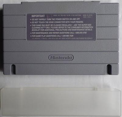 Final Fantasy IV - Cartucho + protector detrás