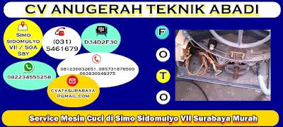 Service Mesin Cuci di Simo Sidomulyo VII Surabaya Murah