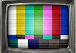 Television with multicolour screen