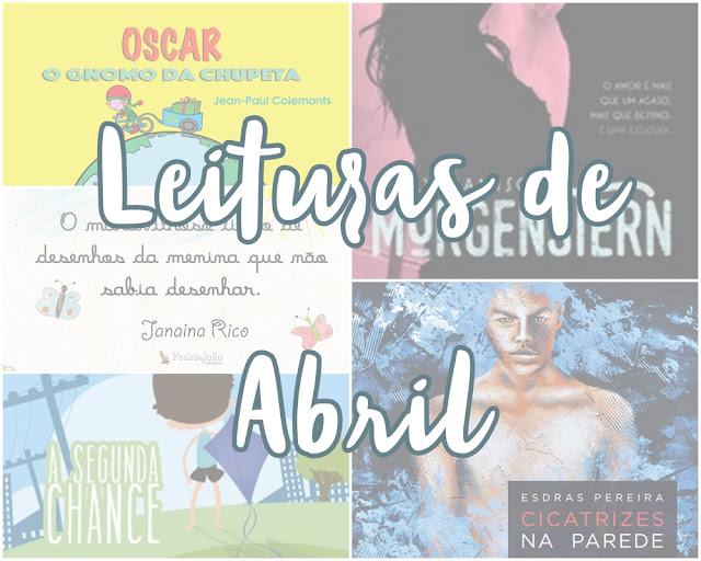Leituras de Abri - 2017