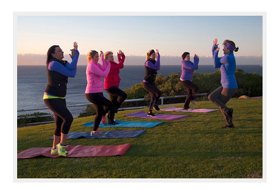 outdoor yoga - top ten best of newcastle