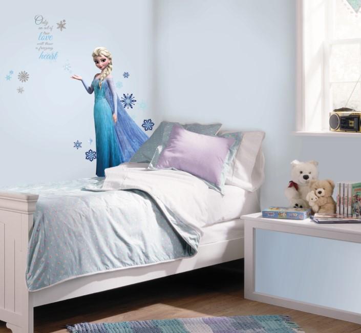 33 Desain Kamar Tidur Frozen Paling Cantik dan Feminim