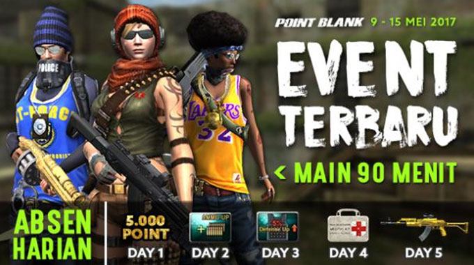Event Point Blank Garena 8 Mei 2017 Waisak