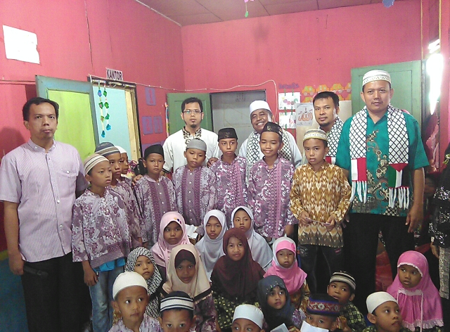 Peringati Tahun Baru Islam, PKS Medan Amplas Santuni Anak Yatim