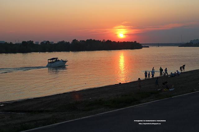 Омск, лето