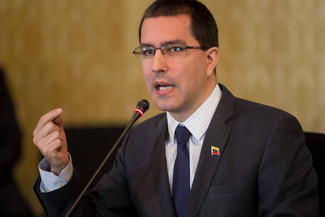 Jorge Arreaza: Venezuela tiene bloqueados más de 3.000 millones de dólares