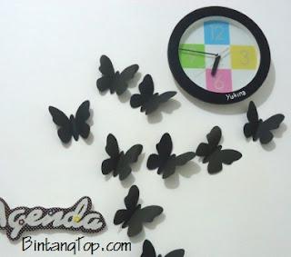Hiasan Dinding - DIY Wall Sticker dari Kertas atau Karton