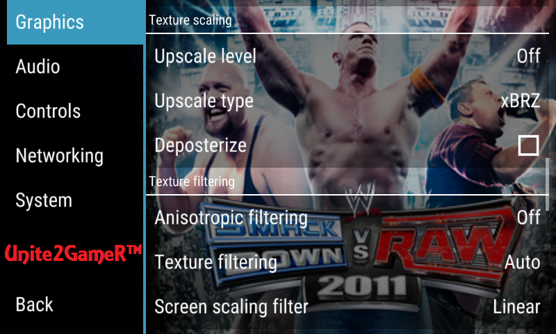 Best ppsspp settings to run wwe 2k14 by crocoX111 smoothly