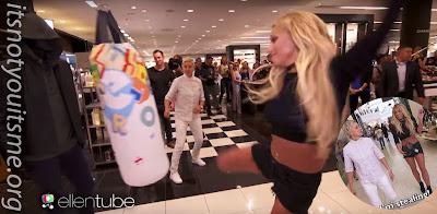 Ellen and Britney Spears' Mall Mischief