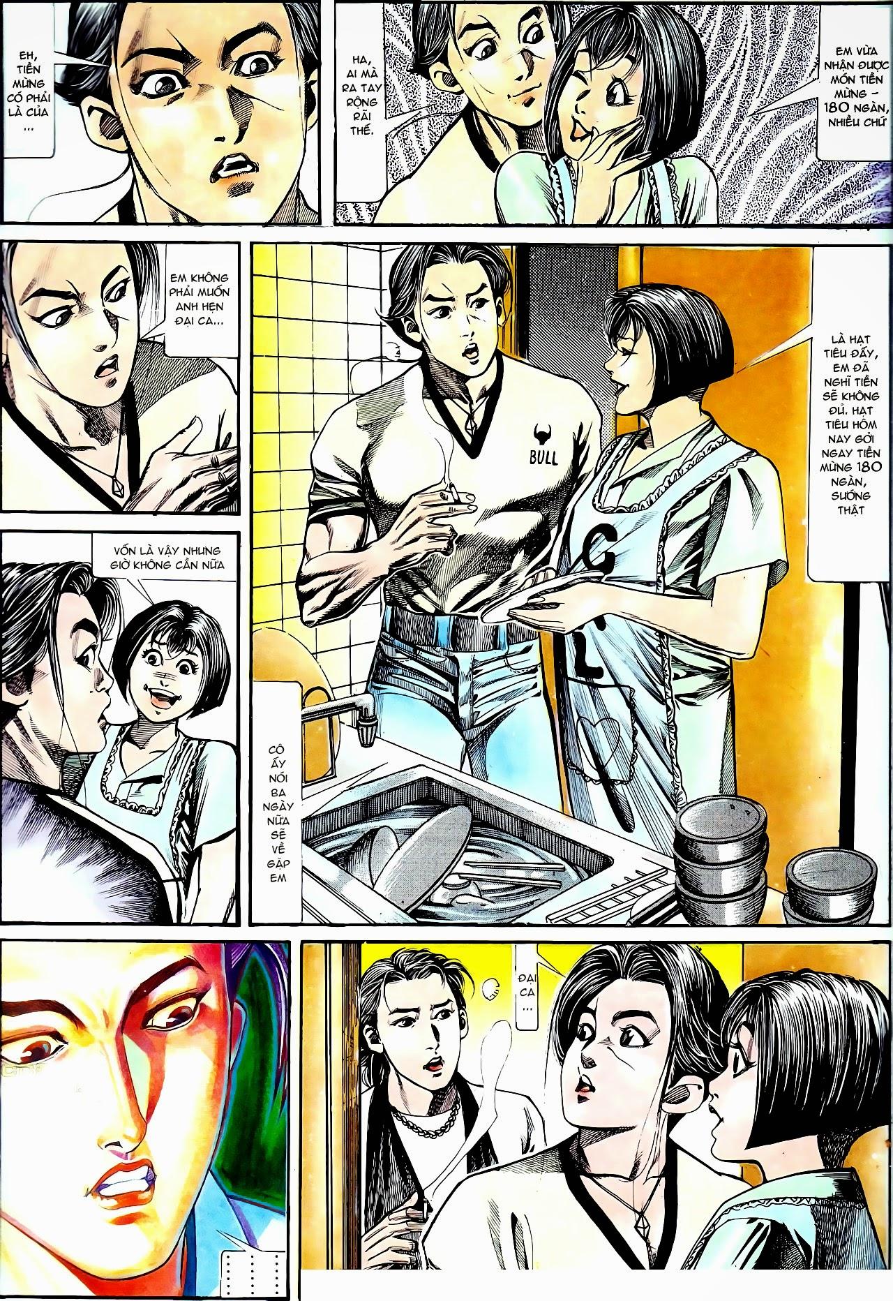 Người Trong Giang Hồ chapter 135: cạm bẫy rình rập trang 9