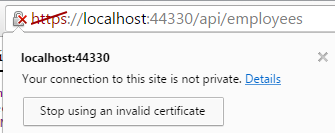 ssl certificate error chrome