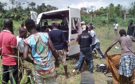 Four in coma, several injured in Nsawam accident in Eastern Region