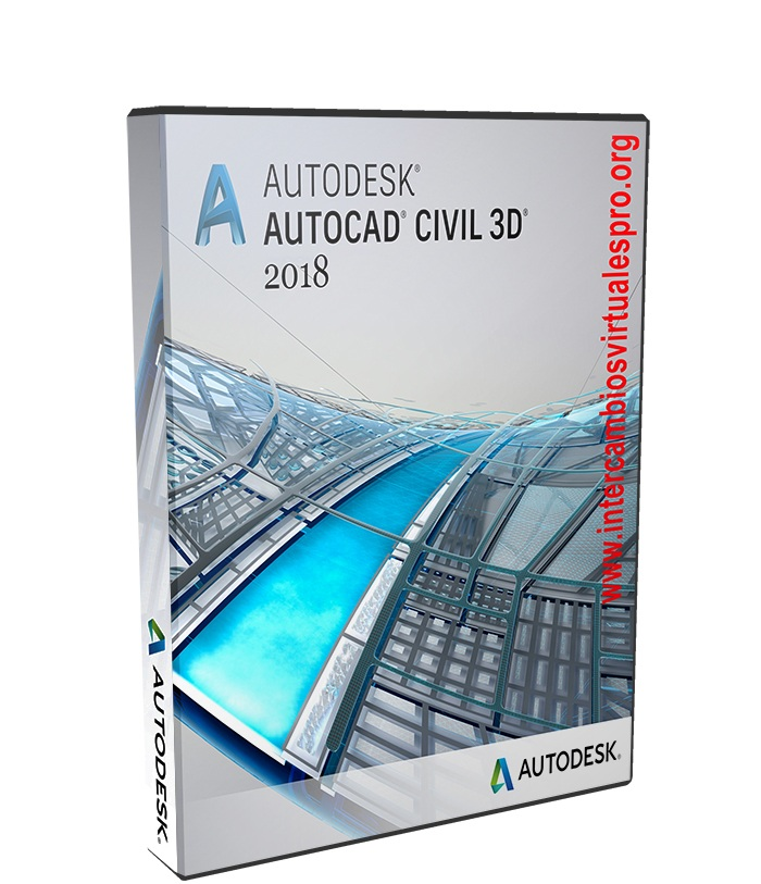 Autodesk AutoCAD Civil 3D 2018 poster box cover