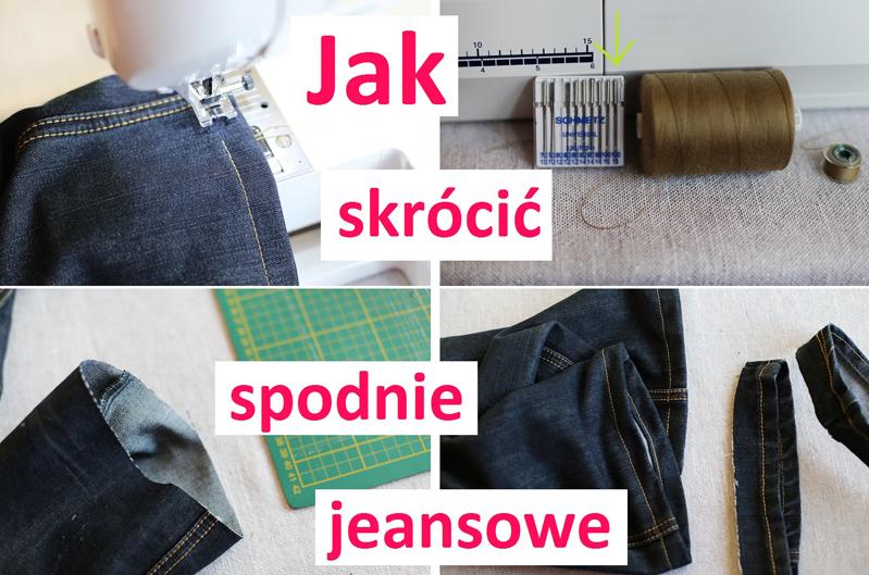 Jak skrócić spodnie jeansowe? INSTRUKCJA - Skracanie spodni jeansowych.