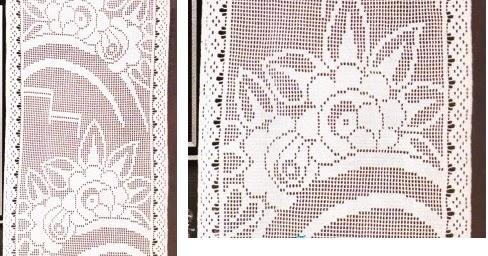 Mes favoris tricot crochet mod le gratuit rideau art - Modeles de rideaux au crochet gratuits ...