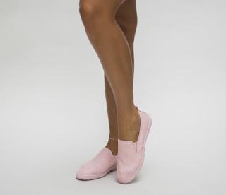 espadrile de vara roz ieftine usoare si comode