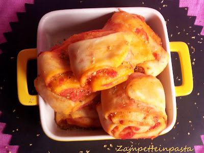 Bocconcini di pizza - Pizza finger food
