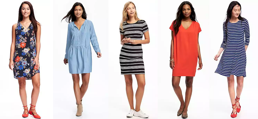 Old Navy: 50% off Dresses!