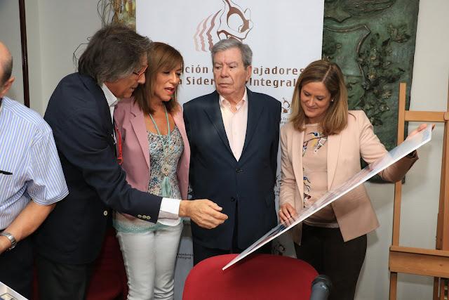 José Luis Corcuera, durante la presentación del acuerdo de cesión del edificio de la alhóndiga