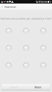 Cara Memberi Kode PIN Aplikasi Android (oppo find7)