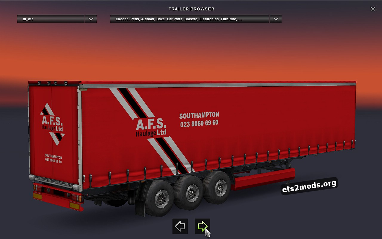 Combo Pack AFS Haulage Company