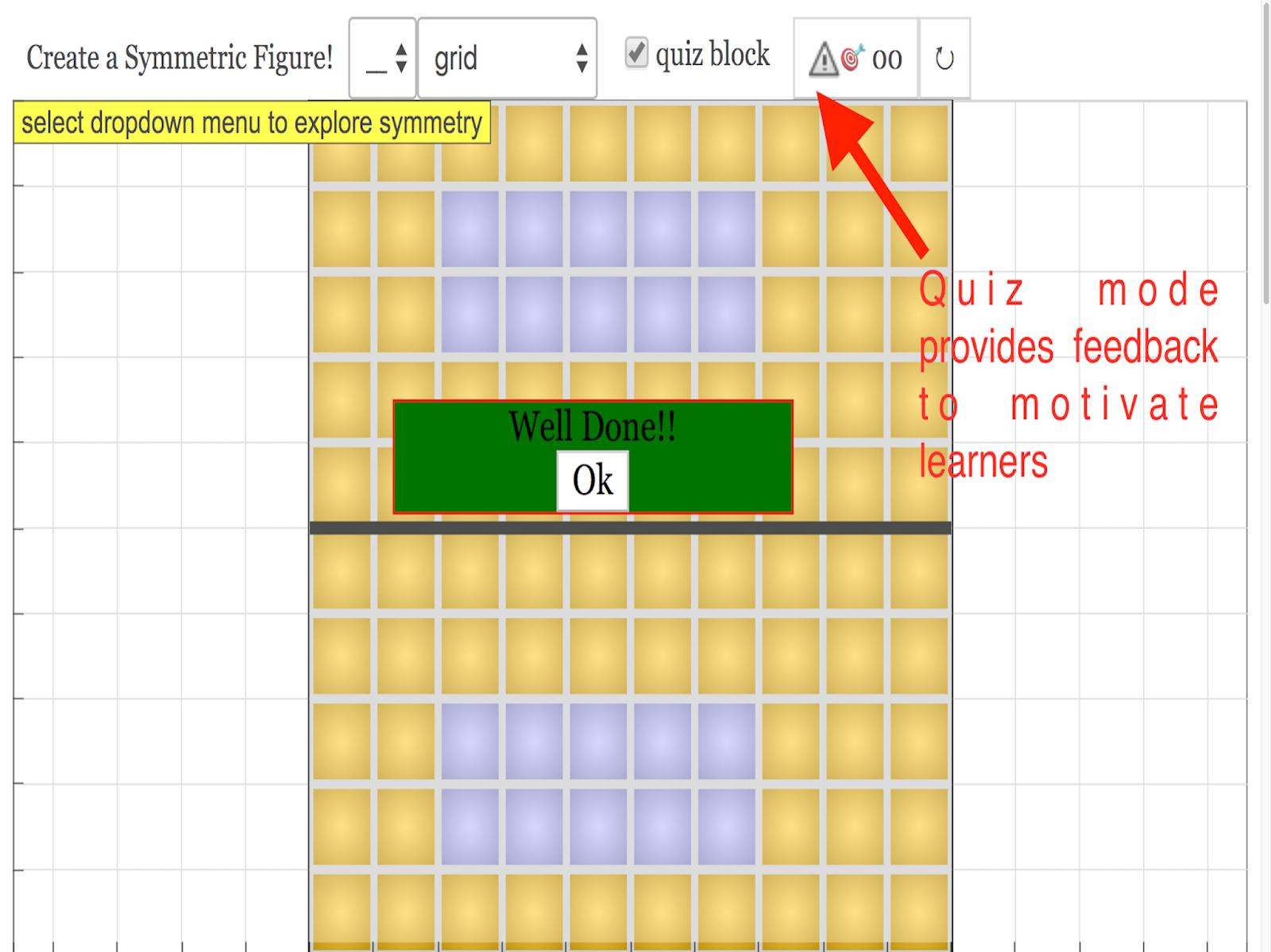medium resolution of symmetry block and drawing javascript html5 applet simulation model