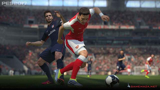 Pro Evolution Soccer (PES) 2017 Gameplay Screenshot 7