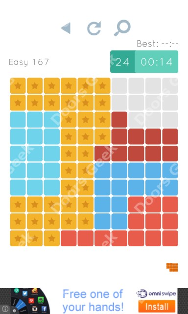 Cheats, Walkthrough for Blocks and Shapes Level 167