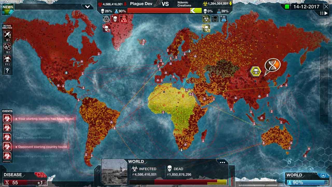 تحميل لعبة Plague Inc Evolved