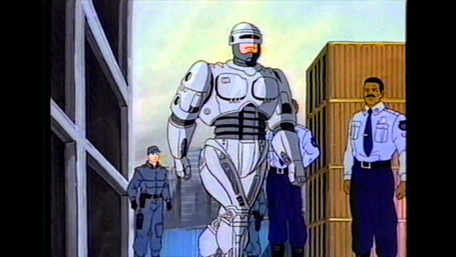 Eu Escrevo Para Robos Robocop Cartoon