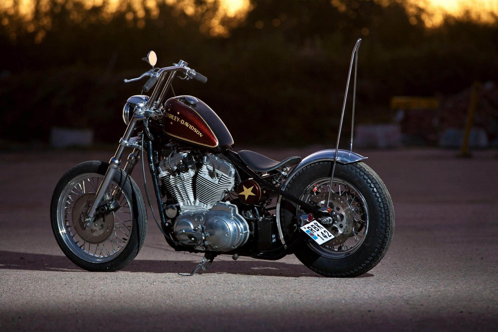 Valen Custom Shop: Star Bike Ready and for sale