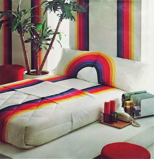 Rainbow Bedroom: Moon To Moon