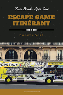 Escape game itinérant