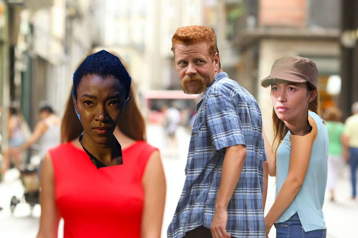 Sasha Williams, Abraham Ford y Rosita Espinosa (The Walking Dead)