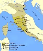 la cultura etrusca nella storia