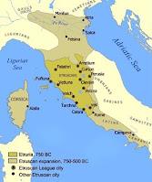 la cultura etrusca nella storia, riassunto per la scuola
