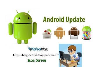 Android Cihazlarda Nasıl Güncelleme Yapılır