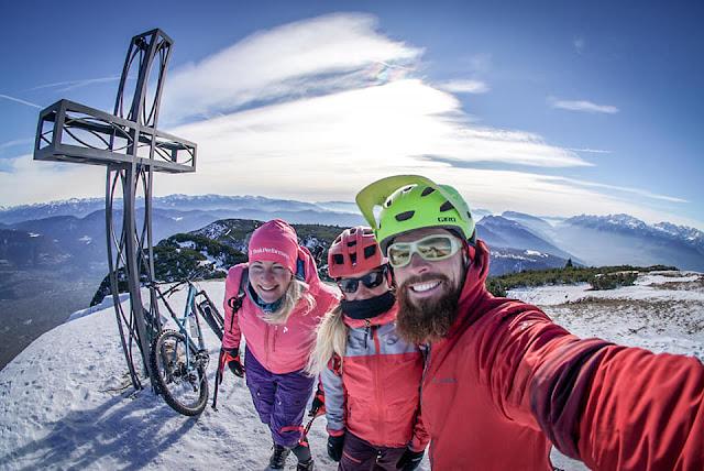 Gipfel Monte Roen Kaltern Mountainbike