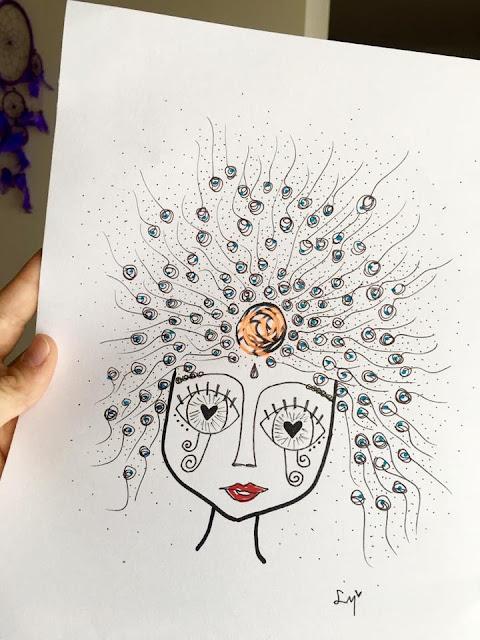LolaMento, Lola Mento, ilustraciones lola mento, ilustraciones lolamento, cuadros decorativos lola mento, cuadros originales lola mento