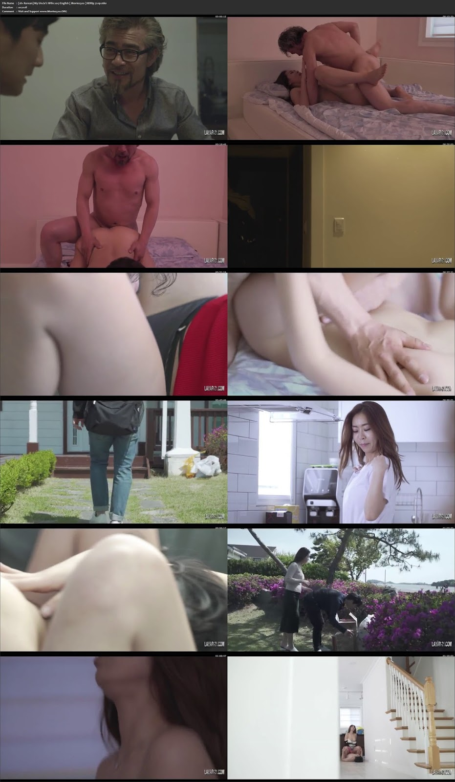 My Uncle's Wife 2017 English HDRip 720p at movies500.info