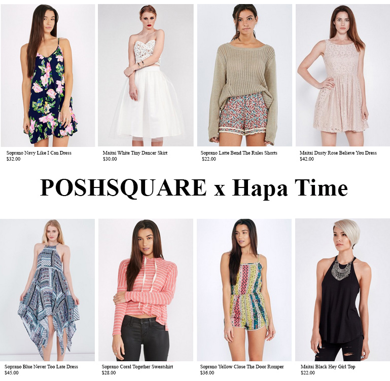 a9411336d666  500 POSHSQUARE Giveaway - Closed - Hapa Time