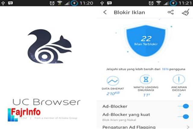 Cara Membuka Dasbor Blogger Menggunakan UC Browser