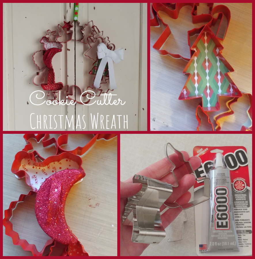 DIY Cookie Cutter Wreath - Twelve Days of Christmas Ideas
